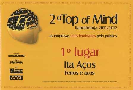 2º Prêmio Top of Mind