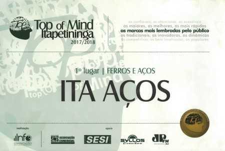 5º Prêmio Top of Mind